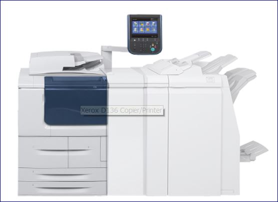 XEROX BOOKLET MAKER FINISHER WITH C/Z FOLD (D139 SERIES