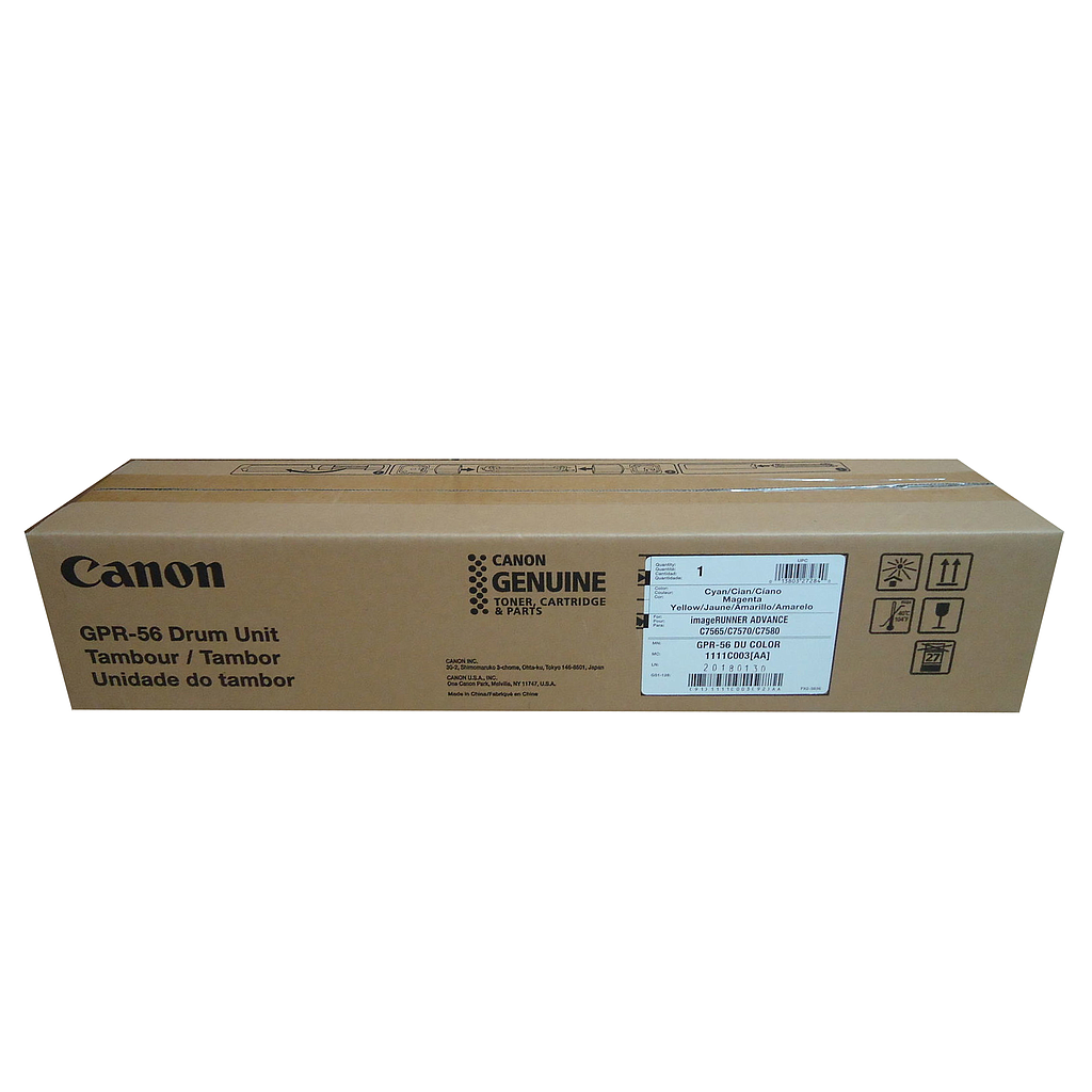 CANON 1111C003AA GPR-56 DRUM UNIT COLOR  (iRAC7580i/C7570i/C7565i) (OEM)